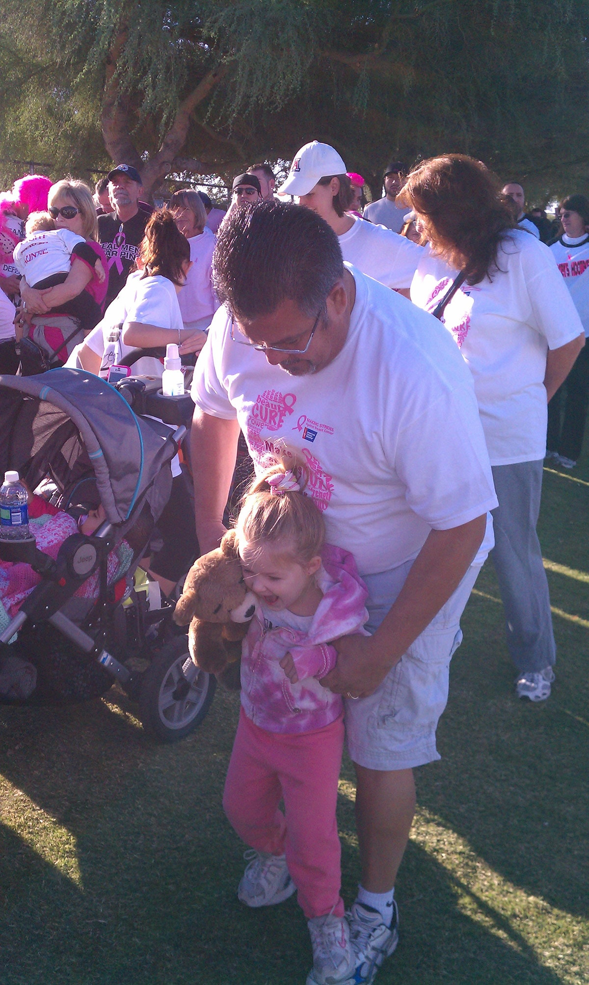 Strides Against Breast Cancer